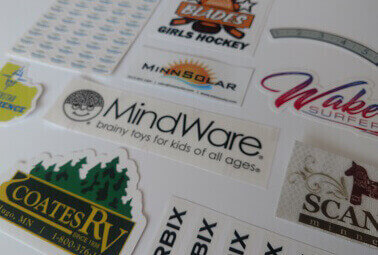 company identification decals and labels minneapolis minnesota